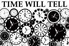 El tiempo dirá Fotografía de archivo