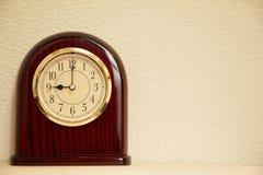 El tiempo es 9:00 Imágenes de archivo libres de regalías