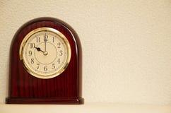 El tiempo es 10:00 Foto de archivo