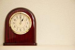 El tiempo es 1:00 Foto de archivo libre de regalías