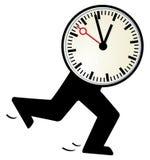 El tiempo es corto Fotos de archivo libres de regalías