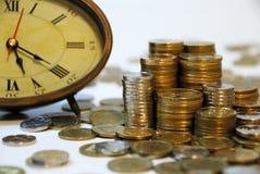 El tiempo es oro? Fotos de archivo libres de regalías