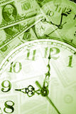 El tiempo es oro Imagen de archivo