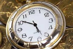 El tiempo es oro Fotografía de archivo