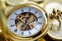 El tiempo es oro Fotos de archivo libres de regalías