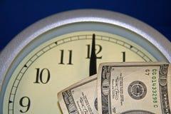 El tiempo es oro Fotografía de archivo libre de regalías