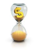 El tiempo es oro concepto Fotografía de archivo
