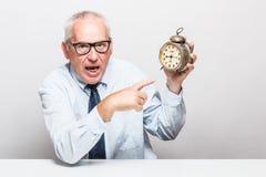 El tiempo es oro concepto. Fotos de archivo libres de regalías