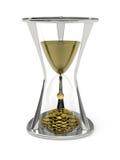 El tiempo es oro concepto Fotos de archivo