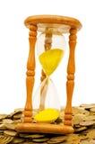 El tiempo es oro concepto Imagen de archivo libre de regalías