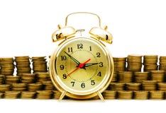 El tiempo es oro concepto Imágenes de archivo libres de regalías