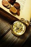 El tiempo está en mi cara Fotografía de archivo