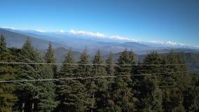 El tiempo hermoso de las mejores de visión del punto de la belleza montañas naturales Himalayan de la naturaleza imágenes de archivo libres de regalías