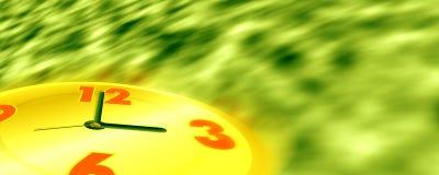 El tiempo se está ejecutando Foto de archivo libre de regalías