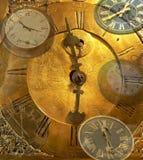 El tiempo se está ejecutando Foto de archivo