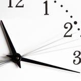 El tiempo va imagen de archivo