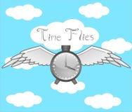 El tiempo vuela Imagen de archivo