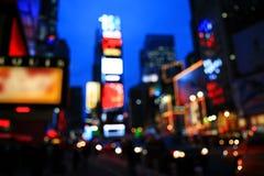 El Times Square - efecto especial Foto de archivo libre de regalías