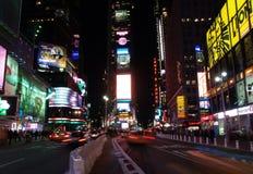 El Times Square en NYC Foto de archivo