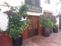 El Tipico Andaluz stock photography