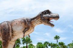 El tiranosaurio es un género del dinosaurio de theropod coelurosaurian Th Fotos de archivo libres de regalías