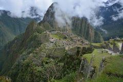 El tiro clásico de Machu Picchu Imagenes de archivo