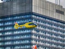 El tomar del helicóptero de Fotos de archivo