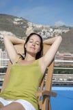 El tomar el sol Imagen de archivo libre de regalías