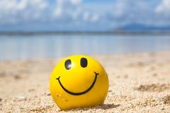 El tomar el sol feliz Foto de archivo libre de regalías