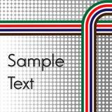El tono medio abstracto raya la línea fondo Fotos de archivo