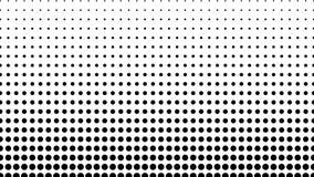El tono medio de muchos puntos, fondo abstracto generado por ordenador, 3D rinde el contexto con efecto de la ilusión óptica almacen de video