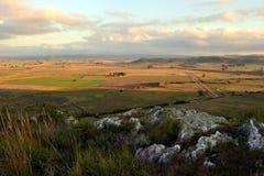 El top de la Santander excava, Maldonado, Uruguay Imagen de archivo