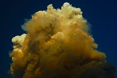 El top de las nubes Fotografía de archivo libre de regalías