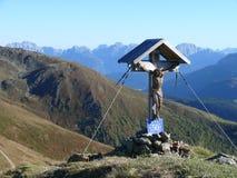 El top de Monte Elmo Fotografía de archivo