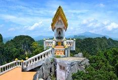 El top de Wat Tham Suea fotos de archivo