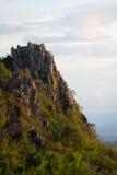 El top del acantilado Fotografía de archivo