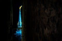El top del castillo Imagenes de archivo