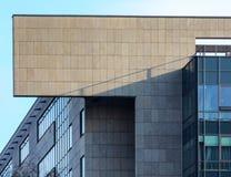 El top del edificio de la corte en Kraków fotos de archivo libres de regalías