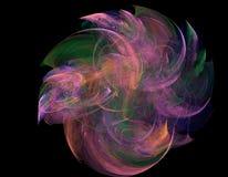 El torbellino colorido cósmico Fotografía de archivo libre de regalías