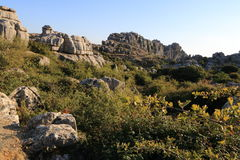 El Torcal, Antequera, Spain Royalty Free Stock Image