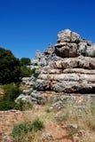 El Torcal National Park, Spain. Stock Images