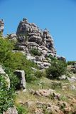 El Torcal National Park, Spain. Royalty Free Stock Photos