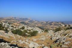 El Torcal panoramic view, Antequera, Spain Stock Image