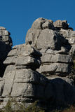 El Torcal set. Photo 02 Royalty Free Stock Photo