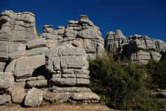 El Torcal set. Photo 04 Stock Photography
