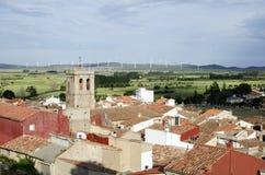 EL Toro, ³ n, Spagna di Castellà Immagine Stock