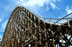 El Toro Roller Coaster Royalty Free Stock Photo