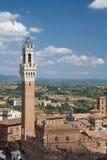 El Torre del Mangia, tierra de Siena Fotos de archivo libres de regalías