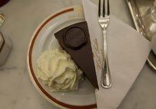 El Torte original de Sacher Foto de archivo libre de regalías