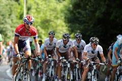 El Tour de France Imágenes de archivo libres de regalías